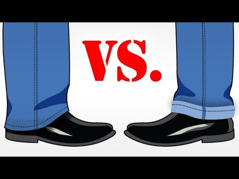 Should Men Cuff Their Pants? | Pros & Cons To Cuffing Trousers