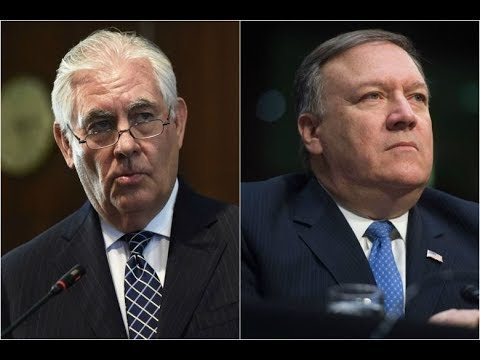 Donald Trump fires chief diplomat Rex Tillerson after clashes, taps Mike Pompeo