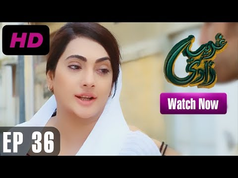 Ghareebzaadi - Episode 36 | A Plus ᴴᴰ Drama | Suzzaine Fatima, Shakeel Ahmed, Ghazala Kaife