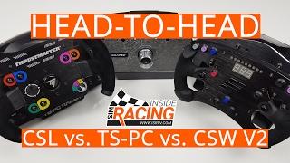 Fanatec CSL Elite vs. Thrustmaster TS-PC Racer vs. Fanatec ClubSport Wheel Base V2 Head-to-Head