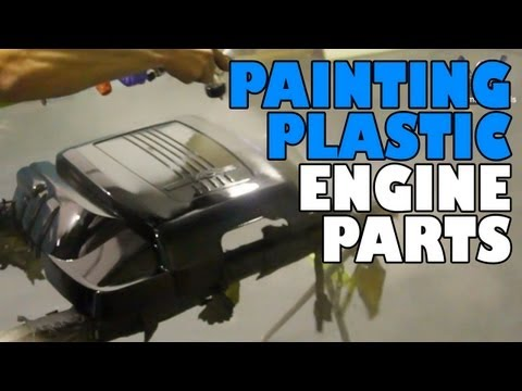 Painting Plastic Engine Parts