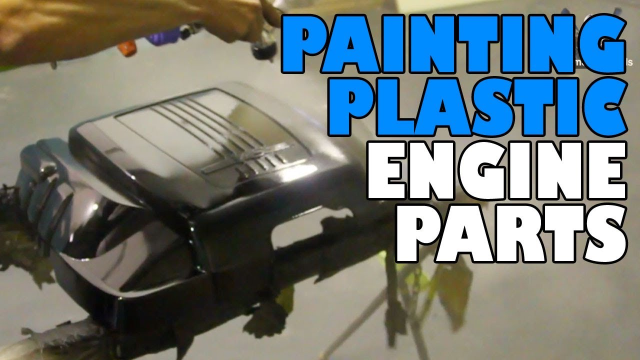 spray paint  plastic car parts home painting