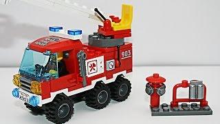 Собираем Пожарную Машину - Сonstructor Play Car toy videos for kids