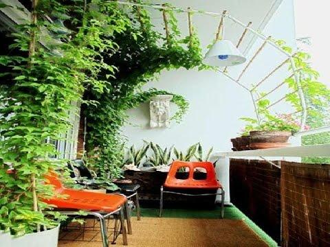 Simple Terrace Garden Decoration For Minimalist Home - YouTube on Terraced House Backyard Ideas id=87841