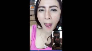 Bigo Live Indo Hot Bikin merinding!!  Tante Cantik main lidah