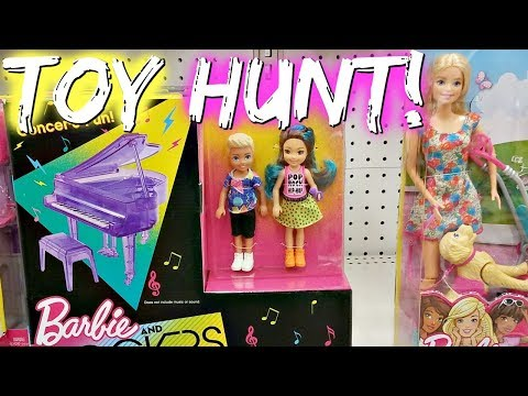 Target Barbie Toy Hunting - Barbie fashionistas, Barbie And The Rockers 2017