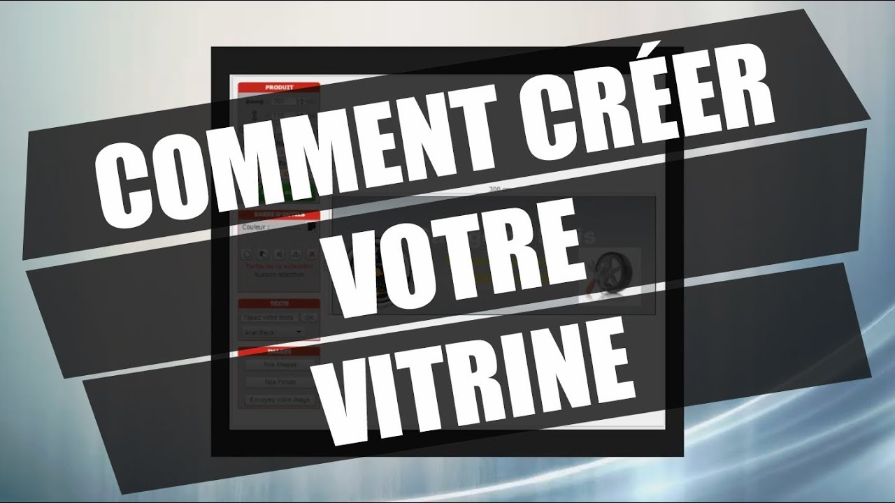 Comment cr er votre vitrine mpa youtube for Comment ouvrire un garage automobile