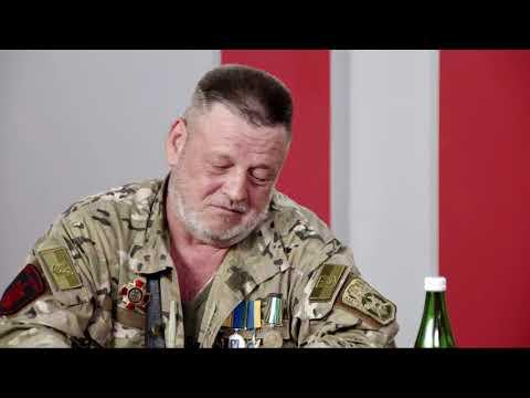 """Актуальне інтерв'ю. О. Саримсаков. Ю. Стеценко. Фестиваль """"Пісні народжені війною"""""""