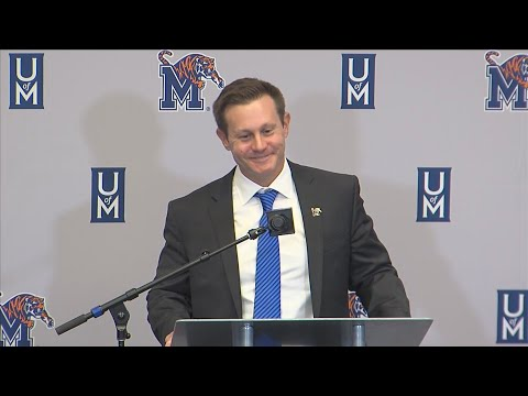 University Of Memphis News Conference Naming Ryan Silverfield Tigers Head Football Coach