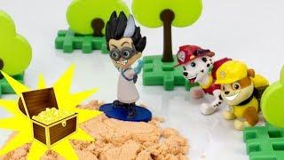 Щенячий Патруль ищет клад Ромео. Мультфильмы для детей.