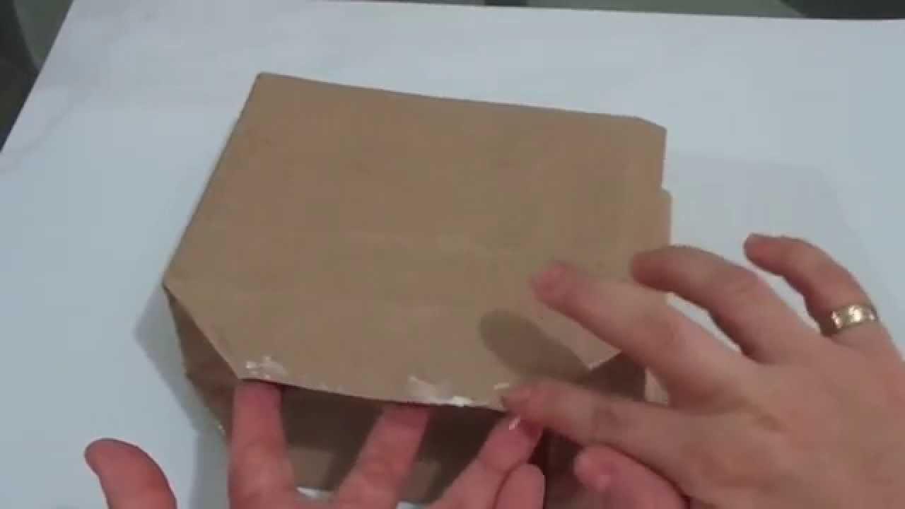 Paso a paso de como hacer una bolsa de papel youtube for Como hacer una alberca paso a paso