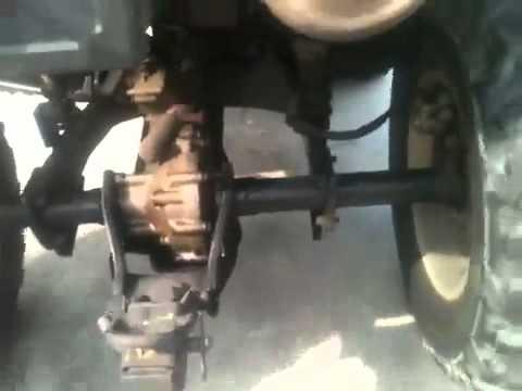 Front Axle For  Suzuki Vinson