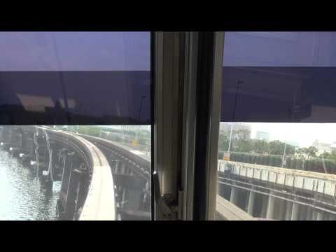 【Full HD】東京モノレール 浜松町-羽田空港 前面展望 Tokyo monorail
