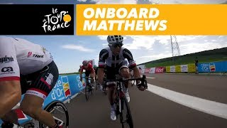 Bring Matthews to the final sprint - GoPro - Tour de France 2017