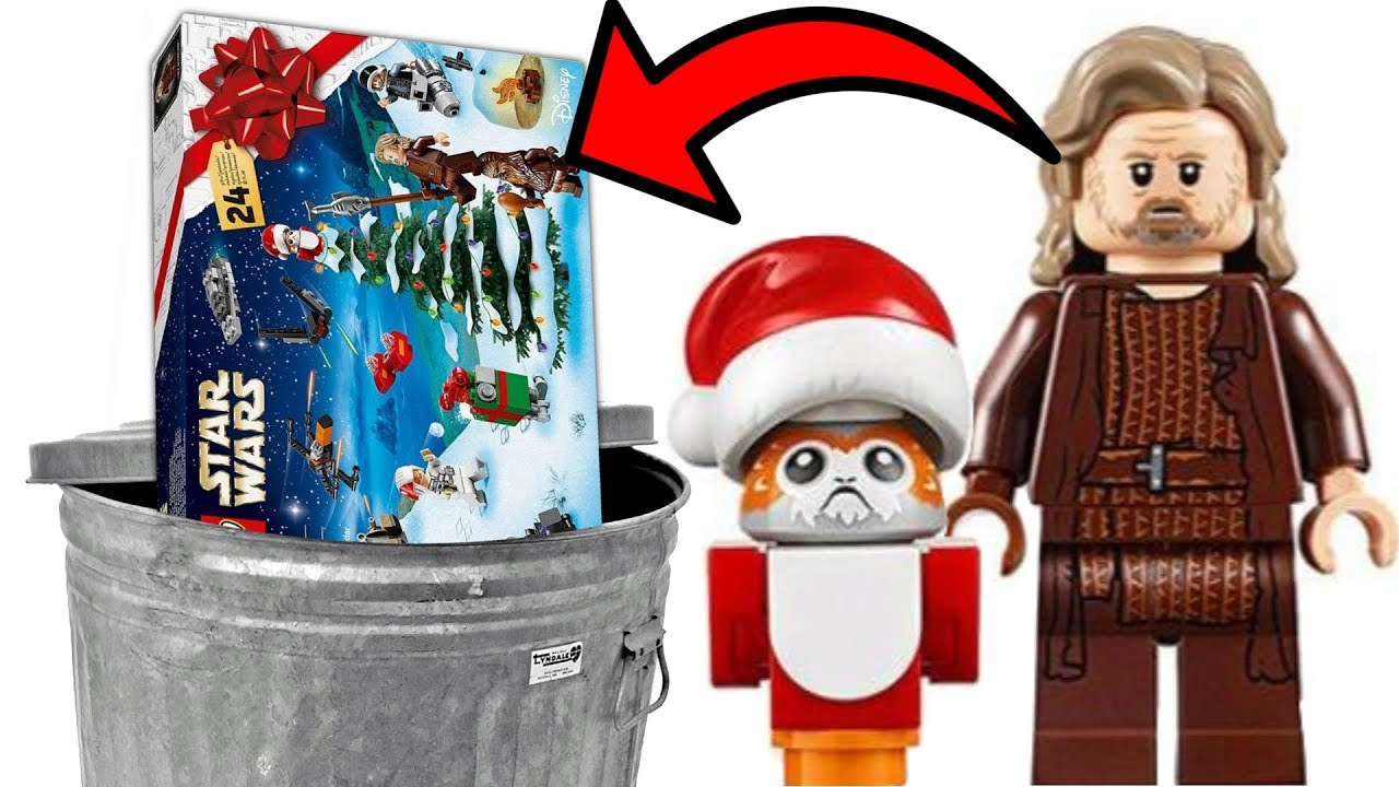 Calendrier Avent Lego Star Wars 2019.The 2019 Lego Star Wars Advent Calendar Isn T Trash