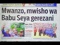 Magazeti ya Leo Jumapili December 10, 2017