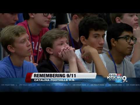 Catalina Foothills High School honors 9/11 victims, first responders