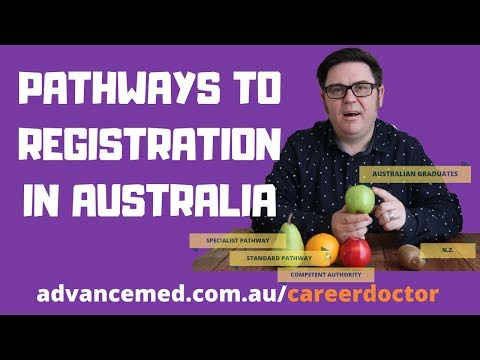 How To Get Registered In Australia - Pathways