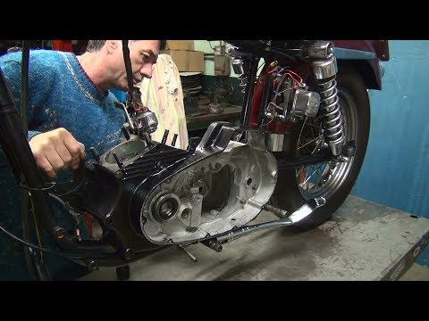 1972 ironhead #108 xl xlch case repair motor rebuild harley sportster by tatro machine
