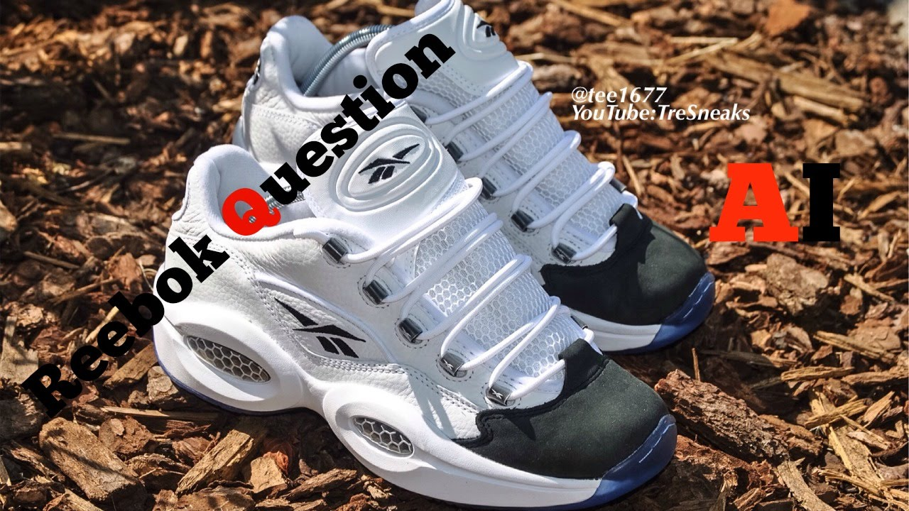 Reebok Question Low (Allen Iverson) AI... The Answer... - YouTube 7dfee521d
