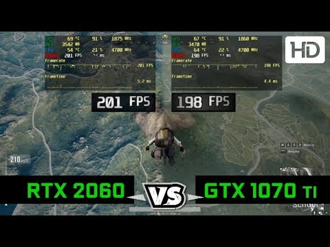 Nvidia RTX 2060 vs GTX 1070 Ti Gaming Comparison - All Graphic Intensive  Titles With FPS