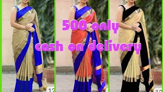 Elegant Cotton Silk Sarees