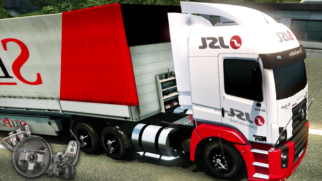 Euro Truck Simulator 2 - Mapa RBR - Volkswagen Constellation » ETS2