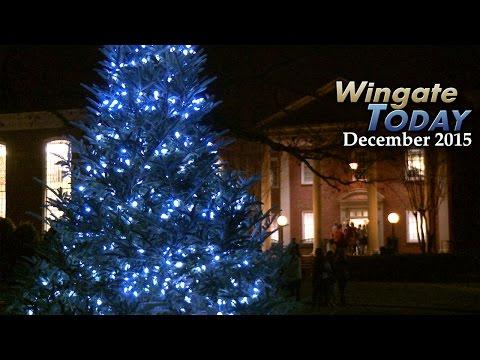 Wingate University - Wingate Today December 2015