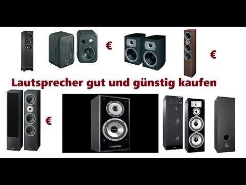 Lautsprecherkaufen Lautsprecher günstig und gut Kaufen Welcher ist gut Kaufberatung Musikanlage.