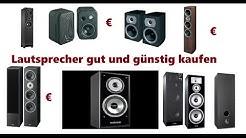 Lautsprecher kaufen Lautsprecher günstig und gut Kaufen Welcher ist gut Kaufberatung Musikanlage.