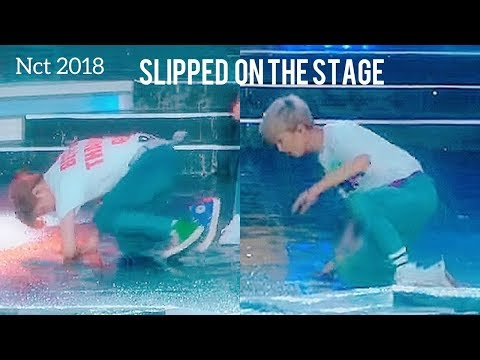 ● nct 2018 [180512] Slipped on the stage@ Dream Concert 2018