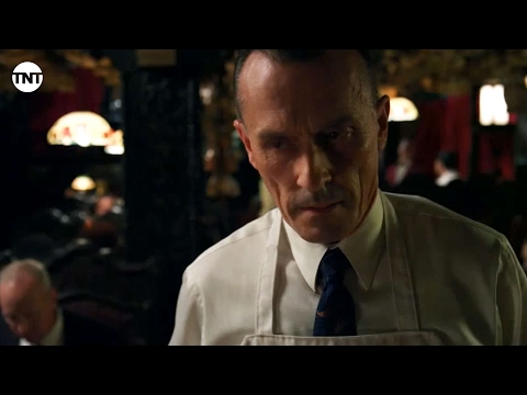 Robert Knepper  Here's your cheese, lady  Mob City  TNT