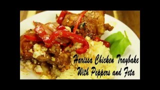 Harissa Chicken Couscous With Peppers And Feta