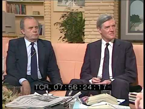 Interview with Ron Todd   TV- am UK General Election Results   12 Jun 1987