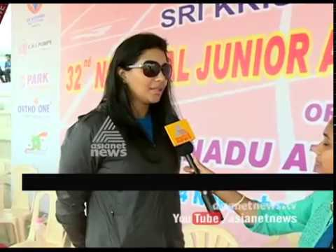 National junior meet : 2016 Anju Bobby George's response
