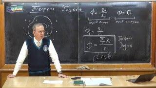 Урок 223. Теорема Гаусса