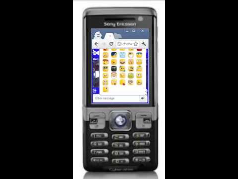 Free Text And Chat On Sony Ericsson C702 Cyber-Shot Mobile Phone