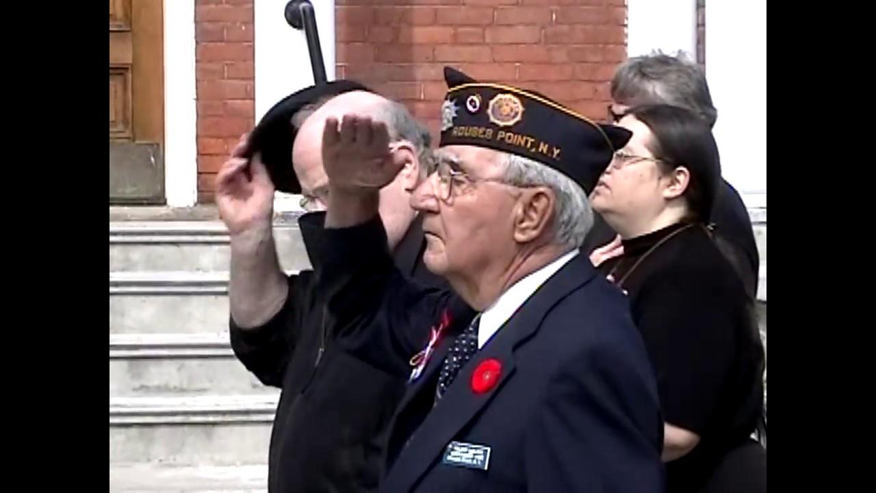 Legion Post 912 Memorial Day  5-30-05