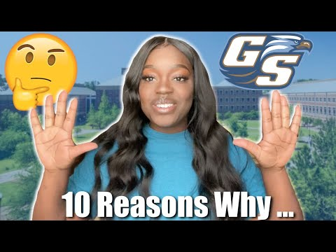 10 REASONS WHY I CHOSE GEORGIA SOUTHERN UNIVERSITY