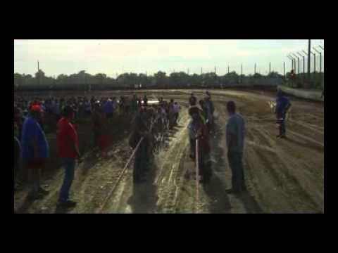 Kids Bus Pull for Shriners at Humboldt Kansas Speedway