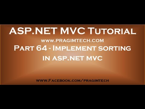 Part+64+Implement+sorting+in+asp+net+mvc