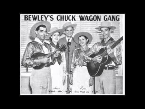 The Original Chuck Wagon Gang - He Set Me Free (1941).
