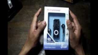 Transcend mp300 unboxing and review