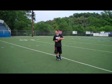 Bubby Brister (21) Quarterback Training Video