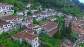 Berat, ville classée patrimoine mondial de l'UNESCO.