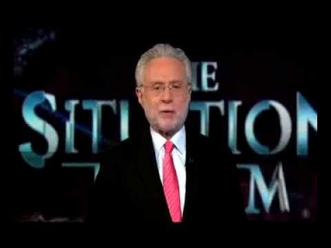 CNN Wolf Blitzer Live From The Situation Room And Reggie Martin