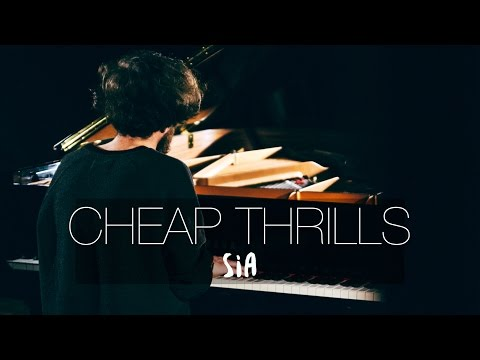 """Cheap Thrills"" - Sia (Piano Cover) - Costantino Carrara"