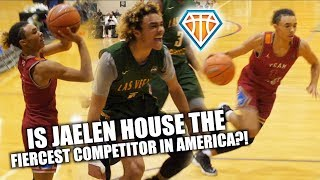 Jaelen House is THE FIERCEST COMPETITOR IN AMERICA!! | NIKE EYBL Highlights