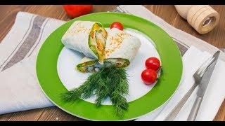 Тёплый рулет с треской и овощами | Первое, второе, третье