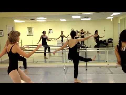 Adult Jazz Dance Class at Miami Royal Ballet School Summer Session from July 2013-August 2013.